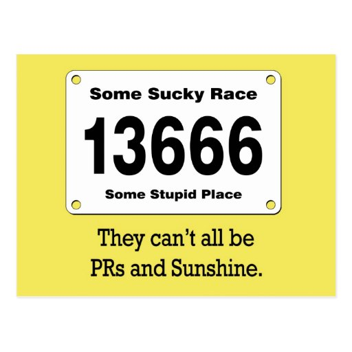 PRs And Sunshine Post Card