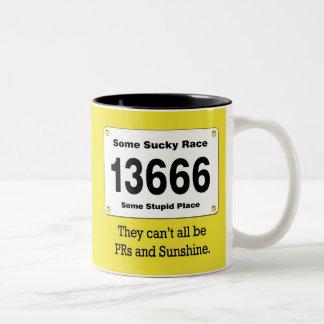 PRs And Sunshine Two-Tone Coffee Mug