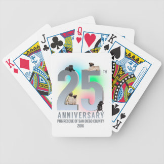 PRSDC 25th Anniversary Tees, GIfts Bicycle Playing Cards