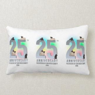 PRSDC 25th Anniversary Tees, GIfts Lumbar Pillow