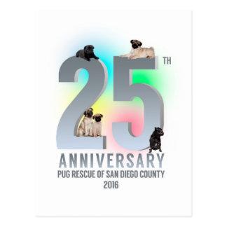 PRSDC 25th Anniversary Tees, GIfts Postcard