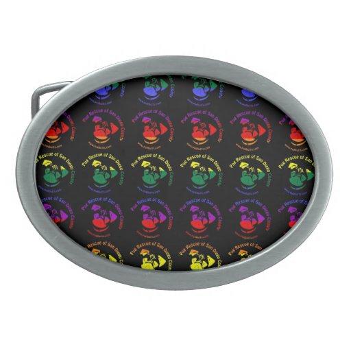 PRSDC Logo - Rainbow Pride Belt Buckles