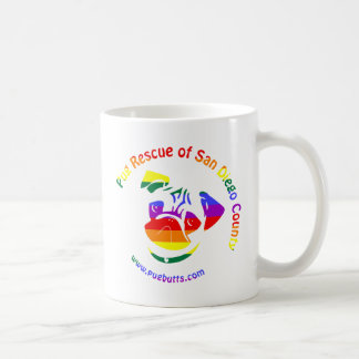 PRSDC Logo - Rainbow Pride Classic White Coffee Mug
