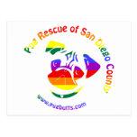 PRSDC Logo - Rainbow Pride Post Cards