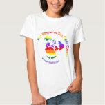 PRSDC Logo - Rainbow Pride Shirt