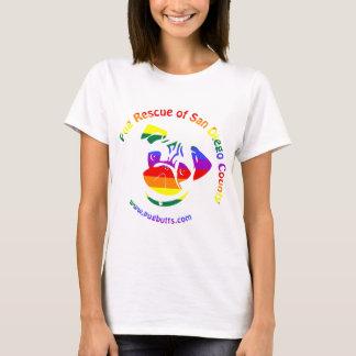 PRSDC Logo - Rainbow Pride T-Shirt