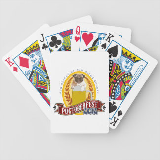 PRSDC Pugtoberfest Logo Bicycle Playing Cards