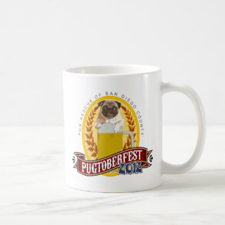 PRSDC Pugtoberfest Logo Classic White Coffee Mug