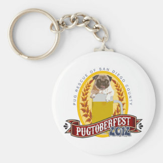 PRSDC Pugtoberfest Logo Keychain
