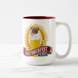 PRSDC Pugtoberfest Logo Two-Tone Coffee Mug