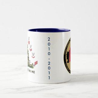 PRT 2010-2010 white mug