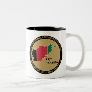 PRT Paktika Army Two-Tone Coffee Mug