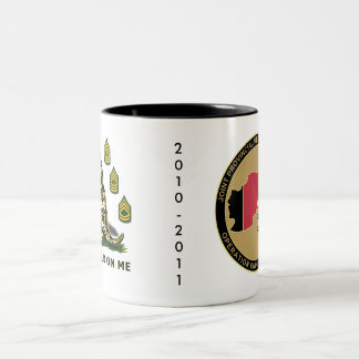 PRT Paktikai 2010-2011 Two-Tone Coffee Mug