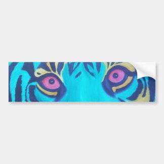 Pru the Tiger Bumper Sticker