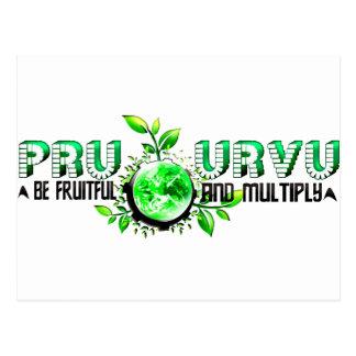 Pru Urvu Postcard