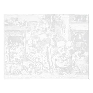 Prudence by Pieter Bruegel the Elder Letterhead