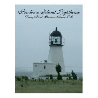 Prudence Island Lighthouse Postcard