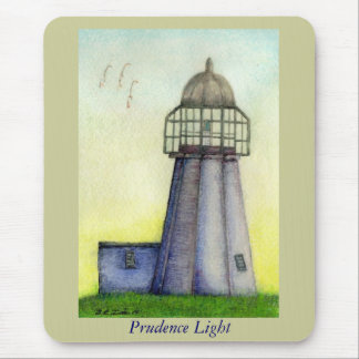 Prudence Light Prudence Island Rhode Island Mouse Pads