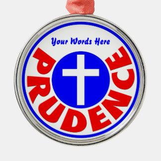 Prudence Metal Ornament