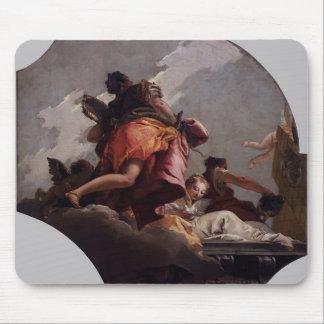 Prudencia, sinceridad y templanza de Juan Tiepolo- Alfombrilla De Raton