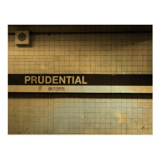 Prudential, Boston Postcard