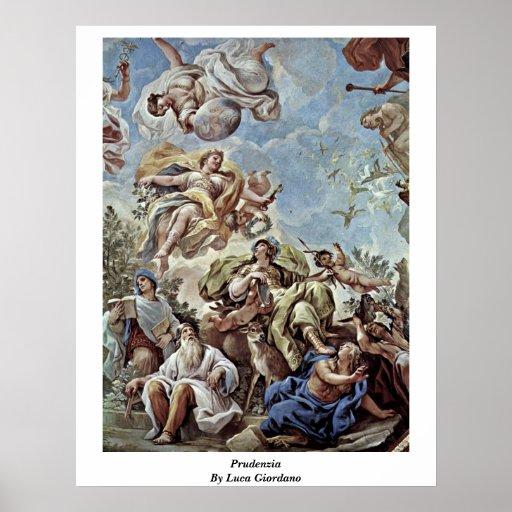 Prudenzia de Luca Giordano Posters