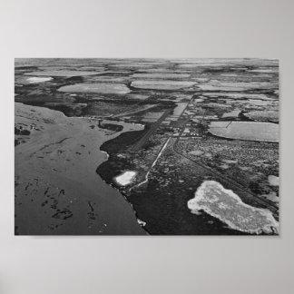Prudhoe Bay Oil Fields Print
