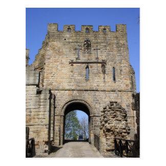 Prudhoe Castle Northumberland, England Postcard