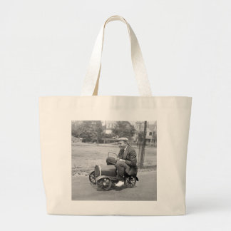 Prueba de carga, 1900s tempranos bolsa lienzo