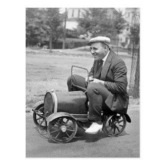 Prueba de carga, 1900s tempranos postales