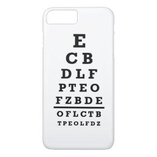 Prueba de la carta de ojo funda iPhone 7 plus