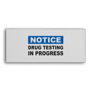 Prueba de la droga en curso