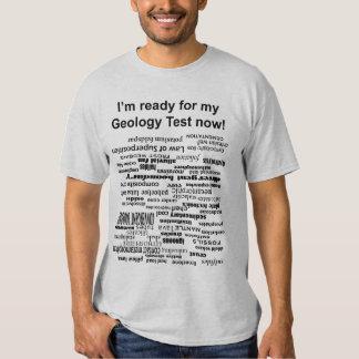Prueba de la geología poleras
