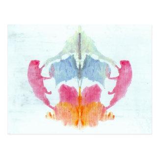 Prueba de la mancha de tinta de Rorschach Tarjetas Postales