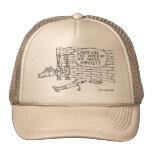 Prueba de la pared gorras de camionero