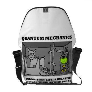Prueba de los mecánicos de Quantum que la vida es Bolsas De Mensajeria
