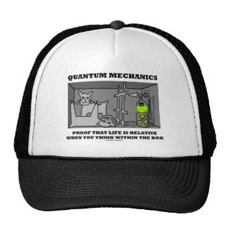 Prueba de los mecánicos de Quantum que la vida es  Gorros