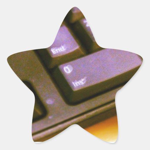 Prueba de QPC Pegatina En Forma De Estrella
