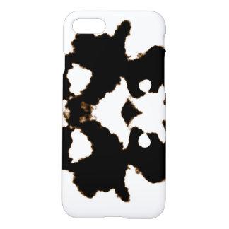 Prueba de Rorschach de una tarjeta de la mancha Funda Para iPhone 7