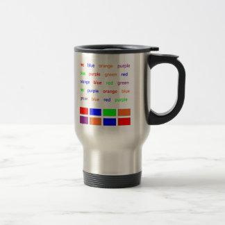Prueba de Stroop Taza De Café
