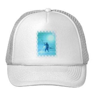 Prueba del gorra de béisbol del viento