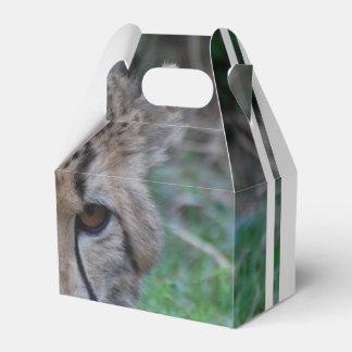 Prueba del guepardo cajas para detalles de boda