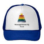 Prueba del índice de inteligencia de la gestión gorras