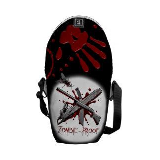 Prueba del zombi bolsa de mensajeria