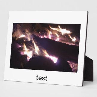 prueba placa para mostrar