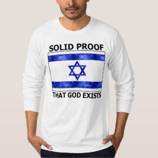 Prueba sólida de Israel que existe dios Poleras