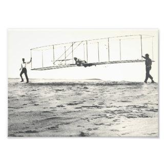Pruebas del planeador de los hermanos de Wright Fotografías