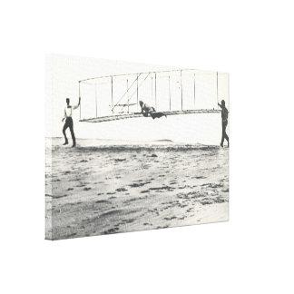Pruebas del planeador de los hermanos de Wright Lona Estirada Galerías