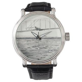 Pruebas del planeador de los hermanos de Wright Relojes De Pulsera