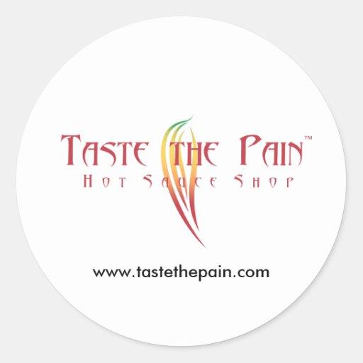 Pruebe al pegatina del dolor